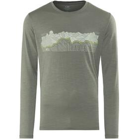 Icebreaker Tech Lite Haute Route LS Crewe Shirt Men metal
